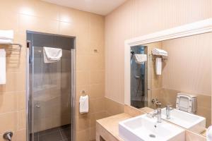 حمام في Qafqaz Riverside Hotel