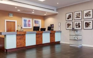 The lobby or reception area at Telford Hotel & Golf Resort - QHotels