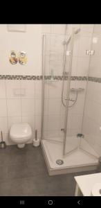 A bathroom at Tigges1