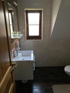 A bathroom at House Flora