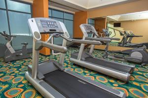 The fitness center and/or fitness facilities at Holiday Inn Express Hotel & Suites Virginia Beach Oceanfront, an IHG Hotel