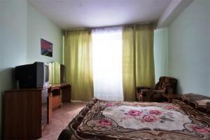 Телевизор и/или развлекательный центр в Guest House Villa u Morya