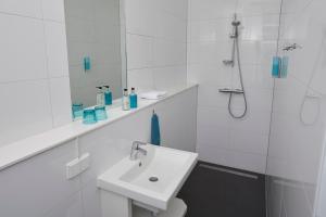 A bathroom at Bed & Breakfast Hotel Malts