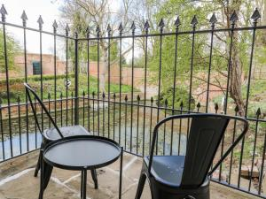 A balcony or terrace at The Pump House Art Studio