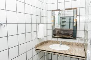 Um banheiro em San Fernando Hotel