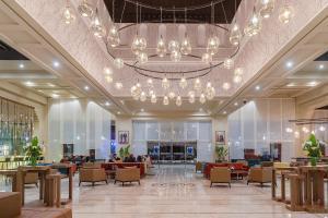 Restaurant ou autre lieu de restauration dans l'établissement Eden Andalou Suites, Aquapark & Spa