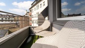 A balcony or terrace at Ginius Homes: Indian elephant room