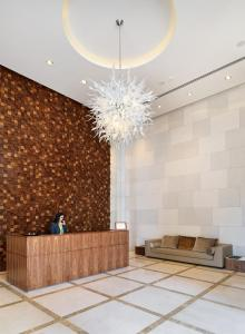 The lobby or reception area at Olympic Residence Deluxe Apartments