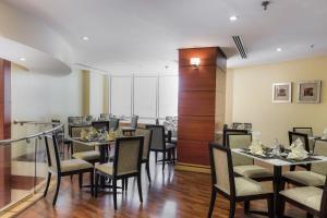 مطعم أو مكان آخر لتناول الطعام في فندق إيلاف المشاعر مكة