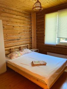 Кровать или кровати в номере Guest House on Lenina