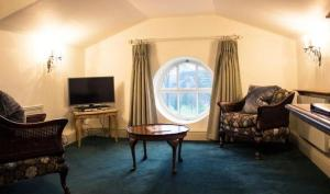 A seating area at The Ickworth Hotel And Apartments- A Luxury Family Hotel