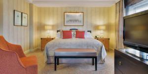 Cama o camas de una habitación en InterContinental Wien, an IHG Hotel