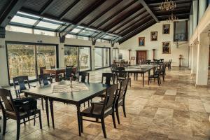 Un restaurant sau alt loc unde se poate mânca la CRAMA APOGEUM