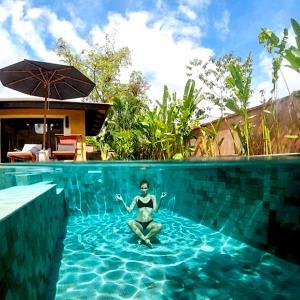 The swimming pool at or near Alanta Villa - SHA Plus
