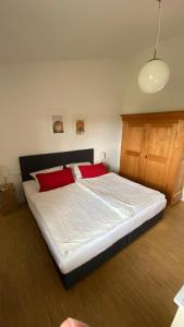 Ein Bett oder Betten in einem Zimmer der Unterkunft Alb Lodge