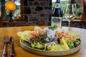 Lunch and/or dinner options available to guests at Errichel House and Cottages