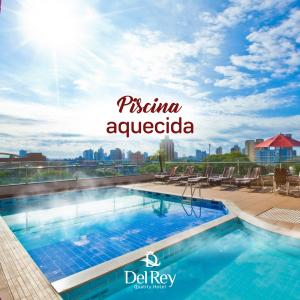 The swimming pool at or near Del Rey Quality Hotel