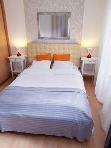Łóżko lub łóżka w pokoju w obiekcie Warsaw Center - Apartment near Central Railway Station