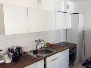 Küche/Küchenzeile in der Unterkunft Apartment Belgisches Viertel