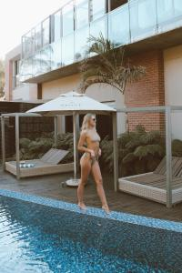 The swimming pool at or near Menlyn Boutique Hotel