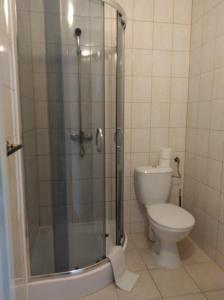 Łazienka w obiekcie Pensjonat Syriusz