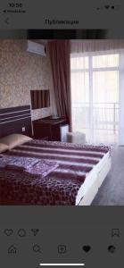 Кровать или кровати в номере Guest House Laza Plaza