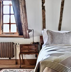 A bed or beds in a room at Lainston House