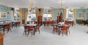 Restaurant ou autre lieu de restauration dans l'établissement Eviston House Hotel
