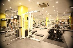 Het fitnesscentrum en/of fitnessfaciliteiten van Soreda Hotel