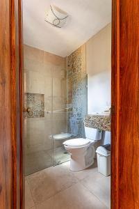 Salle de bains dans l'établissement Hotel Casa Hipil