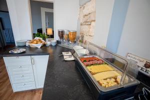 Küche/Küchenzeile in der Unterkunft Landhotel Tanne