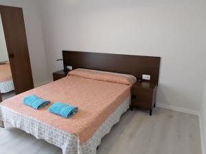 Cama o camas de una habitación en Apartseu