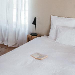Un ou plusieurs lits dans un hébergement de l'établissement Bicoque