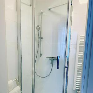 A bathroom at Pension Belo Sono