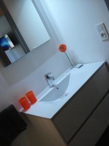 Ванная комната в Hotel La Fayette