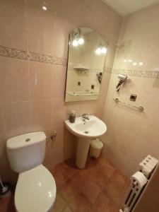 A bathroom at Casa Jesús