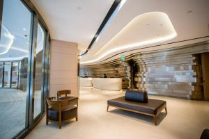 A seating area at Butterfly on Prat Boutique Hotel Tsim Sha Tsui