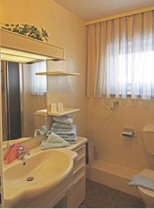 Ein Badezimmer in der Unterkunft Kapitänin Maria