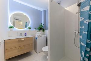 A bathroom at La Navette