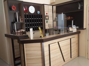 The lounge or bar area at Villa Balani