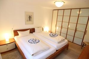 Ein Bett oder Betten in einem Zimmer der Unterkunft Theresa Haus Cordula