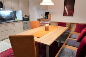 Küche/Küchenzeile in der Unterkunft Ferienwohnung Simonhof
