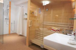 Ein Badezimmer in der Unterkunft Ferienwohnung Simonhof