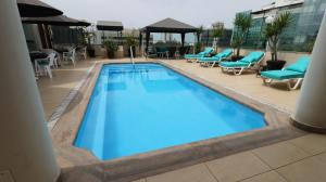 The swimming pool at or close to Hotel Boulevard