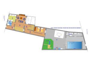Plano de Casa Tío Peguero