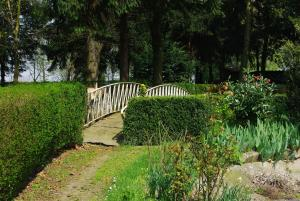 A garden outside Pension Genengerhof