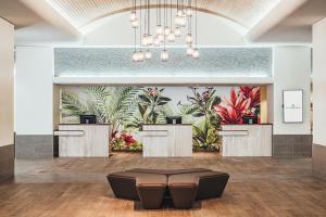 The lobby or reception area at Ala Moana Hotel - Resort Fee Included