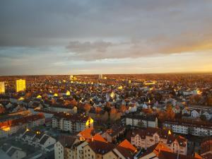 A bird's-eye view of Über den Wolken und super zentral zwischen Frankfurt und Darmstadt - 100qm