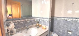 Un baño de Hotel Nueva Plaza