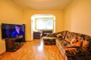 Телевизор и/или развлекательный центр в Apartment on Tolstogo 19